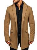 Palton de iarnă pentru bărbat camel Bolf 1047