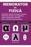 Memorator de fizica - Clasele 9-12 - Vasile Stef