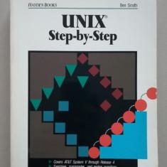 UNIX step by step (sisteme de operare) (programare) (in limba engleza)