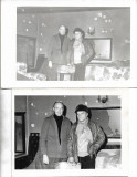 2 poze locuinta lovita de gloante la Revolutia din 1989