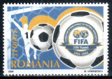 Romania 2004, LP 1647, Centenar FIFA, MNH! LP 3,50 lei