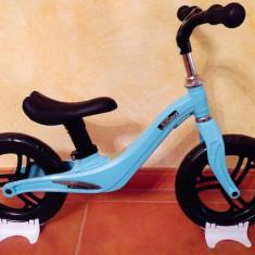 Bicicleta fara pedale cu cadru de magneziu Skillmax C UltraLight 2 kg, blue