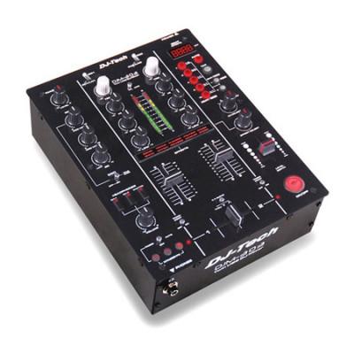 Mixer DJ Ibiza, 2 canale dual USB, EQ pe 3 benzi, iesire casti foto