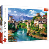 Cumpara ieftin Puzzle Trefl 500 Pod Vechi Mostar Bosnia