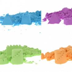Set de modelat, 1 kg de nisip kinetic cu forme - jucarie creativa copii - 00002897