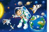 Puzzle Castorland 54 mini Cosmos 1