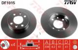 Disc frana RENAULT CLIO I (B/C57, 5/357) (1990 - 1998) TRW DF1015