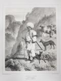 Auguste Raffet (1804-1860) - Cioban din Banat