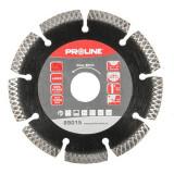 Disc diamantat segmentat laser Proline, tip X, 180 mm
