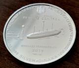 SERBIA - 100 Dinara 2019 - Nicola Tesla - o uncie argint - 31.1 gr. - 999/1000