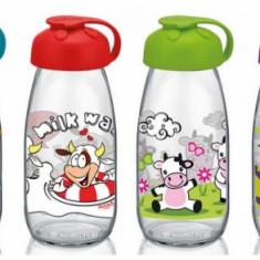Sticla pentru lapte cu decor, 015436, 250 ml