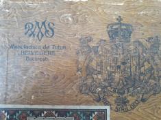 Cutie tigari romaneasca Regalitas Manufactura tutun Belvedere regalista foto