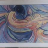 Tablou pe panza in ulei, 59x78 cm, Nonfigurativ, Abstract