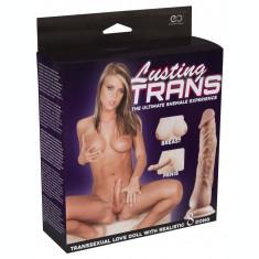 Papusa Gonflabila Transexuala Penis Dildo 3D