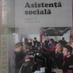 ASISTENTA SOCIALA ANUL I, SEMESTRUL II - COLECTIV