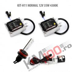 Set xenon H11 NORMAL 12V 35W 4300K