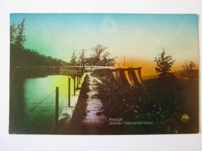 Rara! Carte poștala Reșița-Stăvilar,circulată 1930 foto