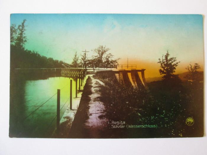Rara! Carte poștala Reșița-Stăvilar,circulată 1930