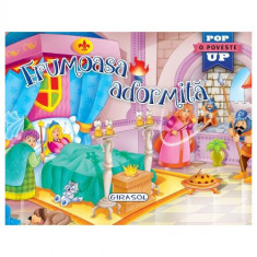 Carte Pop-Up Frumoasa Adormita