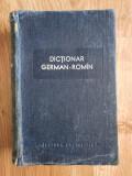 DICTIONAR GERMAN-ROMAN - Isbasescu 1958