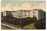 IASI -SCOALA DE FII DE MILITARI-CARTE POSTALA UPU CIRCULATA LA 1907