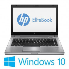 Laptop Refurbished HP EliteBook 8470p, i5-3210M, Win 10 Home