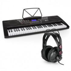 SCHUBERT Etude 225 USB tastatură de învățare cu 61 de taste ecran LCD USB Headset