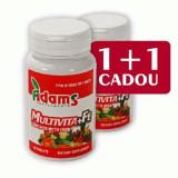 Multivita+Fe, 30cps, Adams Vision 1+1