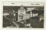 Cp Arad : Palatul Cultural - circulata 1931, timbre, Fotografie