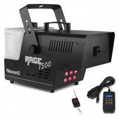 Beamz Rage 1500, LED, aparat de făcut fum, 6 x 9 W RGB LED, 1500W, 350 m³/min., rezervor de 3,5 L