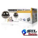 Camera interior IP cu microfon incorporat Alb, Camera IP, Konig