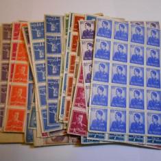 Regele Mihai, uzuale, 30 valori, bloc de 99 bucati