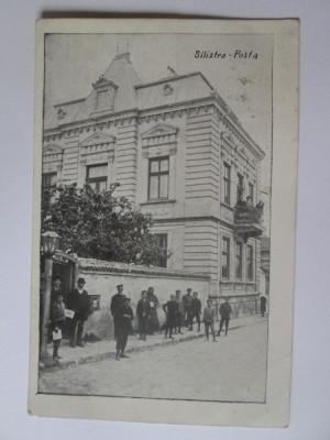 Carte postala Dârstor/Silistra-Oficiul postal,circulata 1913 foto
