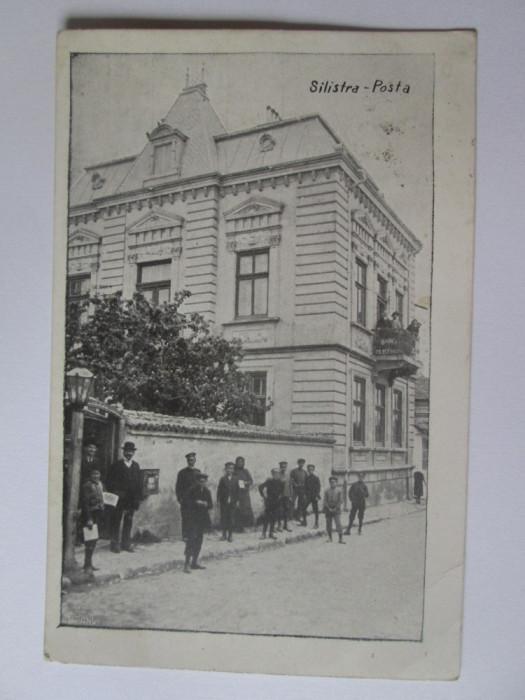 Carte postala Dârstor/Silistra-Oficiul postal,circulata 1913