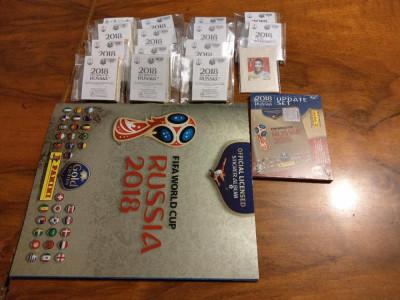 Panini World Cup 2018 Gold Rusia foto