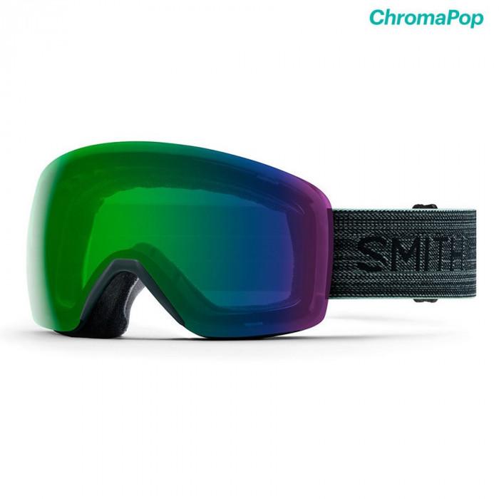 Ochelari Smith Skyline Deep Forest ChromaPop Everyday Green Mirror