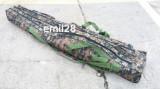 Husa 1,35m model camuflaj pentru lansete de Crap de 3,6m din 3