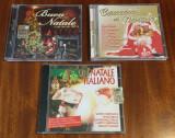 Lot 3 CD-uri originale de COLINDE în LIMBA ITALIANĂ (30 lei toate) - Ca noi!