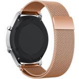 Cumpara ieftin Curea ceas Smartwatch Samsung Gear S2 Rose Gold Milanese Loop, iUni 20 mm Otel Inoxidabil