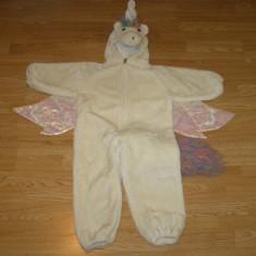 costum carnaval serbare animal unicorn ponei pentru copii de 3-4 ani