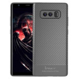 Husa Ipaky Fibre Carbon Gri Pentru Samsung Galaxy Note 8 N950