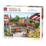 Puzzle 1000 piese Amsterdam Olanda
