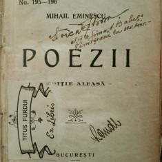 Eminescu,POEZII.Editie aleasa. Bucuresti (1926)