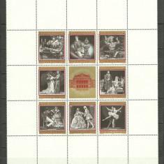 Austria 1969 - opera din Viena, bloc neuzat