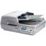 Scanner Epson DS-6500 USB A4 White + Adaptor Network