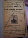 ANATOMIA SI FIZIOLOGIA OMULUI  DE SANIELEVICI,VERNESCU,BOGOESCU 1938