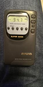 AIWA CR-D3 AM/FM Stereo Digital Radio Receiver