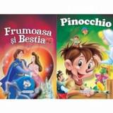 2 Povesti: Frumoasa si Bestia si Pinocchio/***