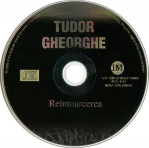 CD Tudor Gheorghe – Reîntoarcerea, original, holograma