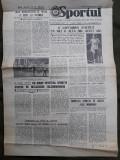 Ziarul Sportul din 6 august 1977